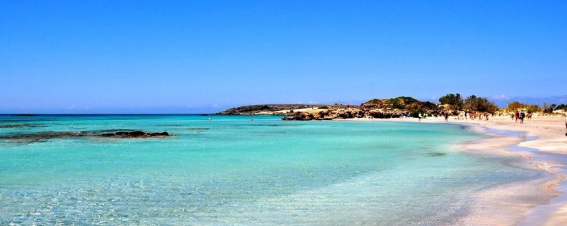 Sea at Elafonissi Beach