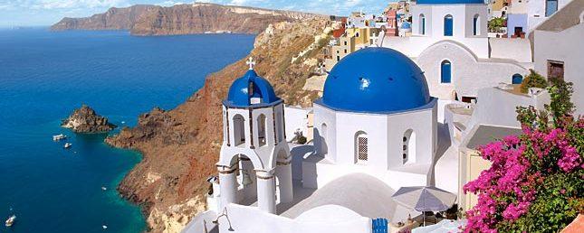 Santorini monastery