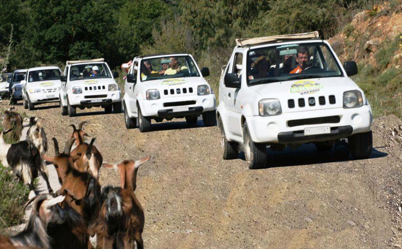JEEP Safari on Crete